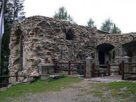 Val di Sole a pevnost Forte Strino ve Vermigliu