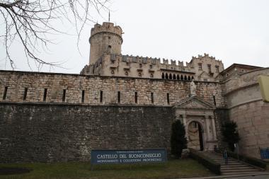 Val di Sole a zámek Buonconsiglio