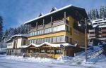Italský hotel Crozzon v zimě